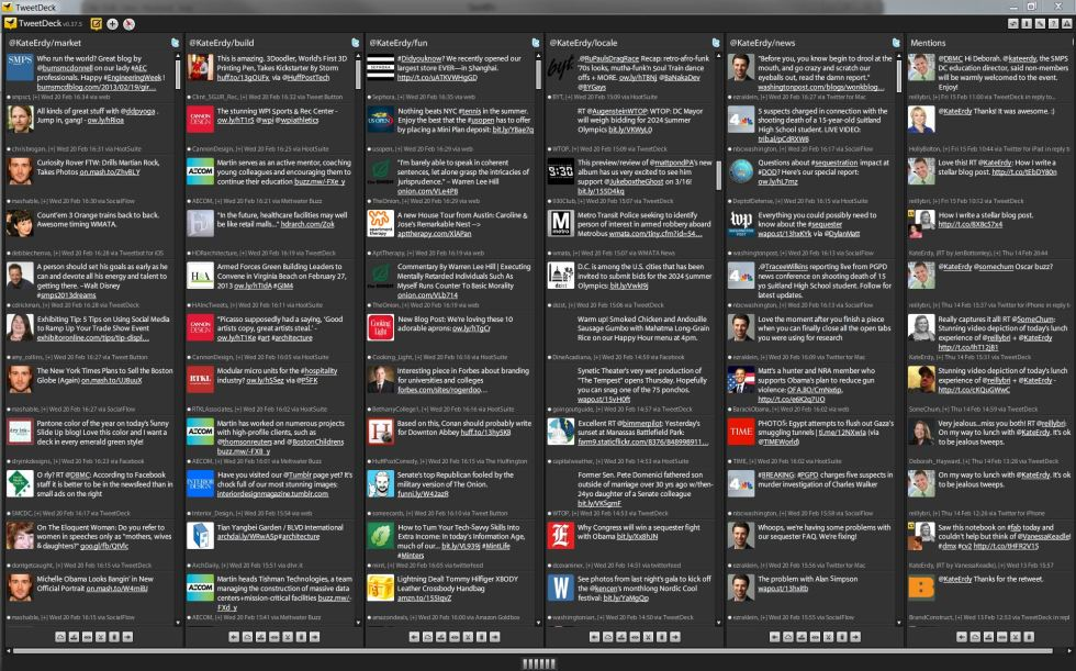 Twitter List Screen Capture