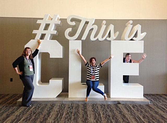 Julie Huval, Laura Ewan, Kate Attilio at #CMWorld